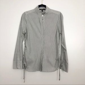 BCBG MaxAzria Pinstripe Button Down Shirt